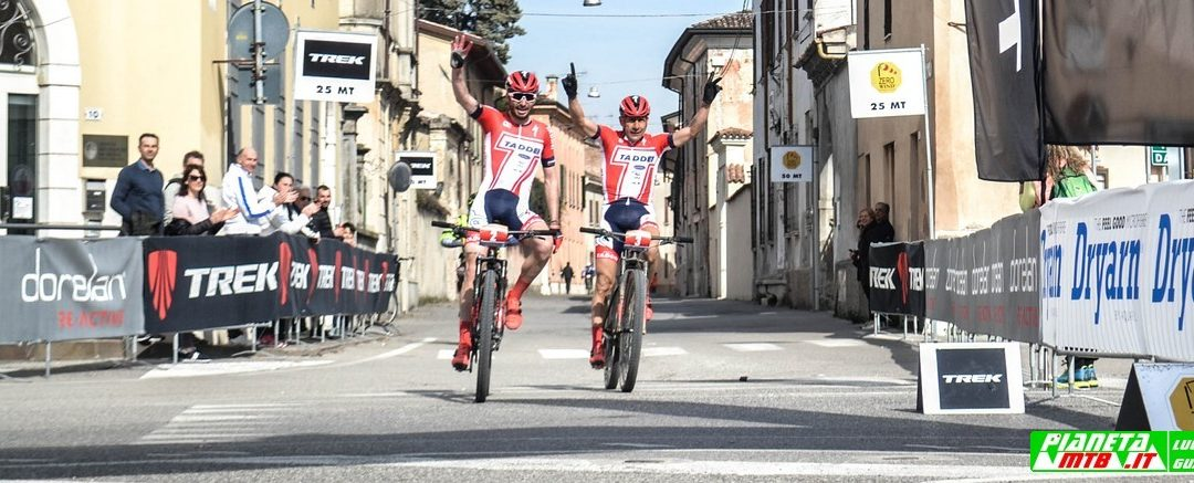 La South Garda bike 2019 è un dominio Cicli Taddei. Primi e secondi: Failli e Casagrande, Gaddoni e Scipioni